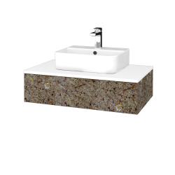 Dreja - Kúpeľňová skrinka MODULE SZZ 80 - J01 Organic / J01 Organic (318628)