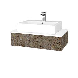 Dreja - Kúpeľňová skrinka MODULE SZZ 80 - J01 Organic / J01 Organic (319243)