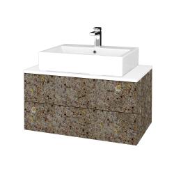 Dreja - Kúpeľňová skrinka MODULE SZZ2 80 - J01 Organic / J01 Organic (319281)