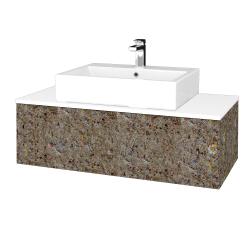 Dreja - Kúpeľňová skrinka MODULE SZZ1 100 - J01 Organic / J01 Organic (319328)