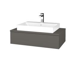 Dreja - Kúpeľňová skrinka MODULE SZZ 80 - N06 Lava / N06 Lava (332860)