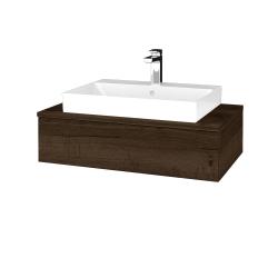 Dreja - Kúpeľňová skrinka MODULE SZZ 80 - D21 TOBACCO / D21 Tobacco (333126)