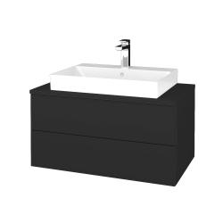 Dreja - Kúpeľňová skrinka MODULE SZZ2 80 - N03 Graphite / N03 Graphite (333799)