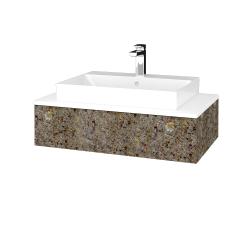 Dreja - Kúpeľňová skrinka MODULE SZZ 80 - J01 Organic / J01 Organic (334574)