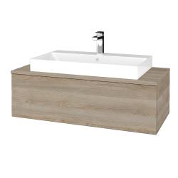 Dreja - Kúpeľňová skrinka MODULE SZZ1 100 - D17 Colorado / D17 Colorado (334758)
