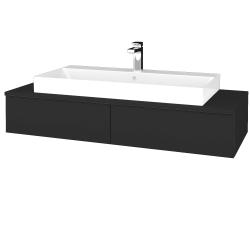 Dreja - Kúpeľňová skrinka MODULE SZZ2 120 - N03 Graphite / N03 Graphite (335809)