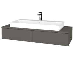 Dreja - Kúpeľňová skrinka MODULE SZZ2 120 - N06 Lava / N06 Lava (335816)