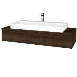 Dreja - Kúpeľňová skrinka MODULE SZZ2 120 - D21 TOBACCO / D21 Tobacco (336073)