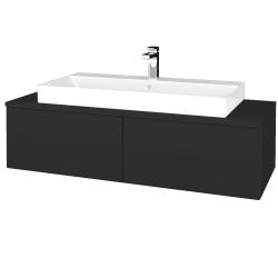 Dreja - Kúpeľňová skrinka MODULE SZZ12 120 - N03 Graphite / N03 Graphite (336318)