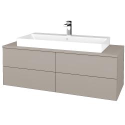Dreja - Kúpeľňová skrinka MODULE SZZ4 120 - N07 Stone / N07 Stone (336806)
