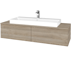 Dreja - Kúpeľňová skrinka MODULE SZZ12 140 - D17 Colorado / D17 Colorado (337704)