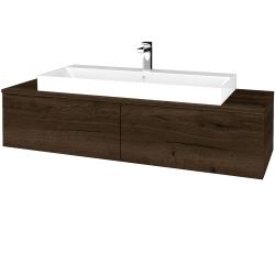 Dreja - Kúpeľňová skrinka MODULE SZZ12 140 - D21 TOBACCO / D21 Tobacco (338039)