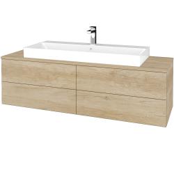 Dreja - Kúpeľňová skrinka MODULE SZZ4 140 - D15 Nebraska / D15 Nebraska (338190)