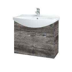 Dreja - Kúpeľňová skriňa TAKE IT SZD2 75 - D10 Borovice Jackson / Úchytka T01 / D10 Borovice Jackson (206000A)