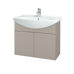 Dreja - Kúpeľňová skriňa TAKE IT SZD2 75 - N07 Stone / Úchytka T05 / N07 Stone (206147F)
