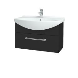 Dreja - Kúpeľňová skriňa TAKE IT SZZ 75 - N03 Graphite / Úchytka T03 / N03 Graphite (206925C)