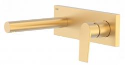 TRES - Jednopáková nástěnná baterieVčetně nerozdělitelného zabudovaného tělesa. Ramínko 163mm. (21120201OM)