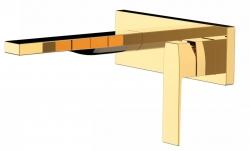 TRES - Jednopáková nástěnná baterieVčetně nerozdělitelného zabudovaného tělesa. Ramínko 185mm. (20220003OR)