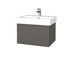 Dreja - Kúpeľňová skriňa VARIANTE SZZ 60 - N06 Lava / N06 Lava (259761)