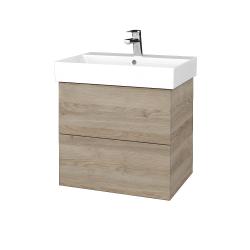 Dreja - Kúpeľňová skriňa VARIANTE SZZ2 60 - D17 Colorado / D17 Colorado (260163)