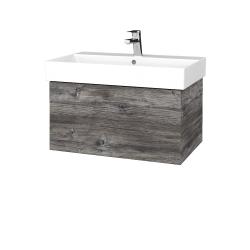 Dreja - Kúpeľňová skriňa VARIANTE SZZ 70 - D10 Borovice Jackson / D10 Borovice Jackson (260606)