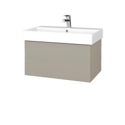 Dreja - Kúpeľňová skriňa VARIANTE SZZ 70 - L04 Béžová vysoký lesk / L04 Béžová vysoký lesk (260682)