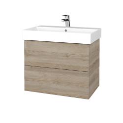 Dreja - Kúpeľňová skriňa VARIANTE SZZ2 70 - D17 Colorado / D17 Colorado (261108)