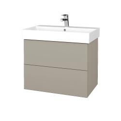 Dreja - Kúpeľňová skriňa VARIANTE SZZ2 70 - M05 Béžová mat / M05 Béžová mat (261122)