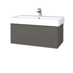 Dreja - Kúpeľňová skriňa VARIANTE SZZ 85 - N06 Lava / N06 Lava (261641)