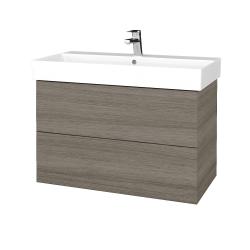Dreja - Kúpeľňová skriňa VARIANTE SZZ2 85 - D03 Cafe / D03 Cafe (261955)