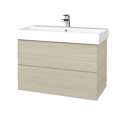 Dreja - Kúpeľňová skriňa VARIANTE SZZ2 85 - D04 Dub / D04 Dub (261962)