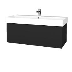Dreja - Kúpeľňová skriňa VARIANTE SZZ 100 - L03 Antracit vysoký lesk / L03 Antracit vysoký lesk (262556)