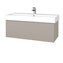 Dreja - Kúpeľňová skriňa VARIANTE SZZ 100 - N07 Stone / N07 Stone (262594)