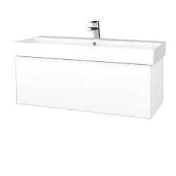 Dreja - Kúpeľňová skriňa VARIANTE SZZ 100 - N01 Bílá lesk / M01 Bílá mat (262723)