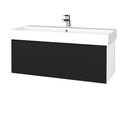 Dreja - Kúpeľňová skriňa VARIANTE SZZ 100 - N01 Bílá lesk / N08 Cosmo (262808)