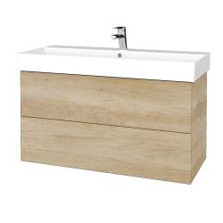 Dreja - Kúpeľňová skriňa VARIANTE SZZ2 100 - D15 Nebraska / D15 Nebraska (262969)