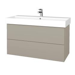 Dreja - Kúpeľňová skriňa VARIANTE SZZ2 100 - M05 Béžová mat / M05 Béžová mat (263003)