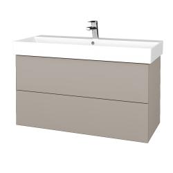 Dreja - Kúpeľňová skriňa VARIANTE SZZ2 100 - N07 Stone / N07 Stone (263065)