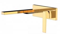 TRES - Jednopáková nástěnná baterieVčetně nerozdělitelného zabudovaného tělesa. Ramínko 245mm. (20220004OR)