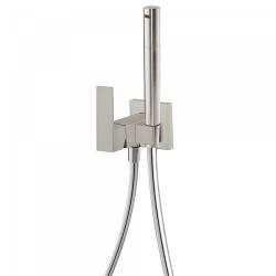 TRES - Jednopáková podomítková baterie pro bidet WCVyměnitelný držák zprava či zleva. Sprchová mosazná baterie s omezovacím hr (00612301AC)