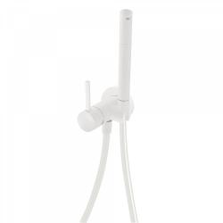 TRES - Jednopáková podomítková baterie pro bidet WCVyměnitelný držák zprava či zleva. Sprchová mosazná baterie s omezovacím hr (134123BM)