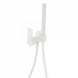 TRES - Jednopáková podomítková baterie pro bidet WCVyměnitelný držák zprava či zleva. Sprchová mosazná baterie s omezovacím hr (20522301BM)