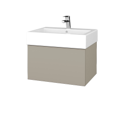 Dreja - Kúpeľňová skriňa VARIANTE SZZ 60 - M05 Béžová mat / M05 Béžová mat (263478)