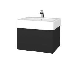 Dreja - Kúpeľňová skriňa VARIANTE SZZ 60 - N03 Graphite / N03 Graphite (263515)
