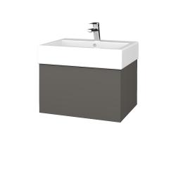 Dreja - Kúpeľňová skriňa VARIANTE SZZ 60 - N06 Lava / N06 Lava (263522)