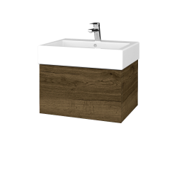 Dreja - Kúpeľňová skriňa VARIANTE SZZ 60 - D21 TOBACCO / D21 Tobacco (263782)