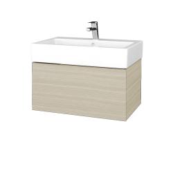 Dreja - Kúpeľňová skriňa VARIANTE SZZ 70 - D04 Dub / D04 Dub (263843)