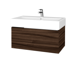 Dreja - Kúpeľňová skriňa VARIANTE SZZ 80 - D06 Ořech / D06 Ořech (264338)