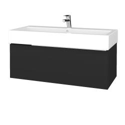 Dreja - Kúpeľňová skrinka VARIANTE SZZ 100 - N03 Graphite / N03 Graphite (264925U)