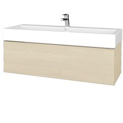 Dreja - Kúpeľňová skriňa VARIANTE SZZ 120 - D02 Bříza / D02 Bříza (265236)
